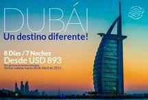 Emiratos Arabes / Disfruta de este lujoso destino! http://www.terranovaviajes.com/index.php?option=com_content&view=article&id=185&catid=7:paquetes-turisticos&Itemid=20