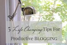 Blogging Tips & Tricks / Everything you need to know to maximize your blog's success!