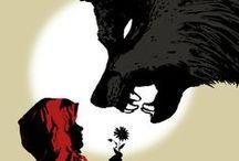 Caperucita / Versiones de Caperucita Roja, desde ilustraciones, películas, moda, etc...