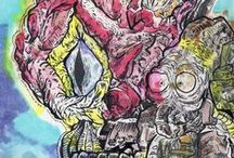Scribble / random sketches & illustrations of mine https://www.facebook.com/m0Re.GoRe