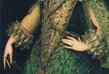 RENAISSANCE ( mid15th-17th ) / Western European Fashion Period During 1480-1620. Italian (1480-1510), Germany (1510-1550), Spanish, Elizabethan (1550-1620)