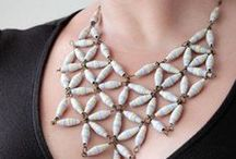 Diy - Jewelry - Paper beads