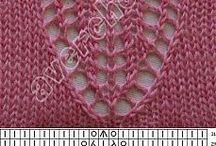 Knitting Stitches / Knitting stitch patterns. Knitting patterns and knitting inspiration on another board.
