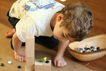 Block, building and construction / Children enjoy a variety of materials to manipulate, explore, construct and deconstruct.  This extends their problem solving skills, hand-eye coordination, fine motor skills and creativity.