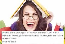 Just for fun / Funny pictures, cartoons, and quotes about books and libraries.