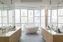 BRING THE SPA HOME / Inspiration for your next bathroom project!