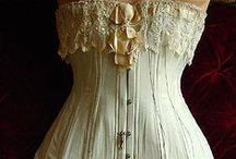 Corset Fashion and Costumes / Sensual and Beautiful. Makes a woman feel pretty.