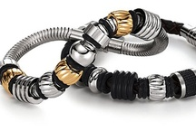 Men's Jewelry by AAGAARD / Not your average men's bracelet. AAGAARD maintains a masculine look while adding some style to your man's wardrobe. / by Baxter's Fine Jewelry