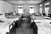 Mary Free Bed History / Information and photos of Mary Free Bed's 125 year history in the West Michigan area. #AskForMary / by Mary Free Bed Rehabilitation Hospital