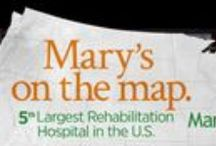 Mary Free Bed Billboards / View Mary Free Bed's latest billboards from the West Michigan area and beyond. / by Mary Free Bed Rehabilitation Hospital