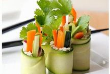 Raw Foods / A sampling of raw food recipes that are easy to prepare at home.