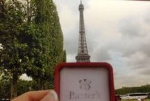 Baxter's all over the world! / Near or far, Baxter's little red box does travel. We love seeing and hearing stories of all of our wonderful customers from all over the world. Although RI is a small place, we are able to offer our services and expertise throughout the country.  / by Baxter's Fine Jewelry