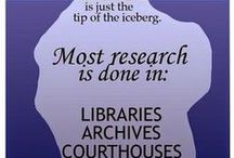Genealogy Humor & Quotes & Inspirational / by Anita Brown Bennett