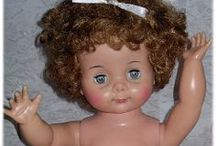 Vintage USA dolls - Ideal Dolls / Ma collection de poupées vintages americaines