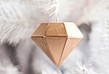 Gold Rustic Modern Christmas