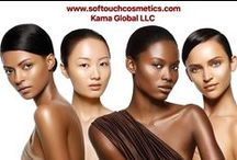 Shades of Beauty by SofTouch Cosmetics / The SofTouch Cosmetics brand specializes in a complete product line for all types of skin and hair texture and offers Private Labeling at no additional cost.