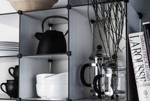 Shelving / Looking for an elegant way to bring order to your clutter? Take a look at our Up The Wall shelving system.