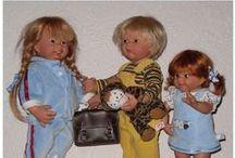 Wichtel Muller Dolls / Poupées de 28 et 32 cm