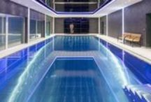 Indoor Pools / The project planning of an indoor swimming pool requires each planning step professional executed. From calculating the engine room size up to the selection of appropriate materials, all details must be matched up professionally.