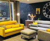 Vibrant sofa collection