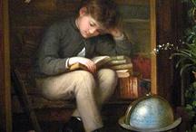 Art, Book, Writer, Reader and Library / Arte nel senso profondo