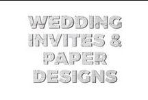 wedding invites & paper design