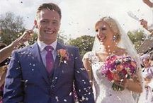 Our past customers / Photos sent to us from our past customers showing their confetti moment! www.confetti-cones.co.uk