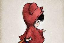 Иллюстрации / Рисунок, акварель, анимашки, персонажи