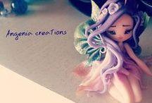 Argenia creations / Sou fã dos trabalhos dessa artista