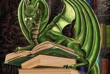 """""""criaturas"""" / fadas, elfos, dragões, unicórnios. criaturas q enchem a imaginação de encanto e magia.. e as vezes,  medo."""