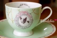 My porcelarts / porcelain , glass