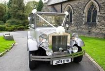 Silver Regal Landaulette Wedding Car