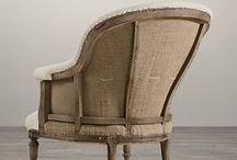 Sillones y sillas / Inspiración, estilos y tejidos.