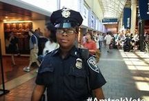 #AmtrakAPD - Amtrak Police Department / The Amtrak Police Department is a national police force committed to protecting the passengers, employees, and patrons of Amtrak.  http://police.amtrak.com/ / by Amtrak Careers and Job Opportunities