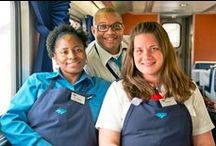 #TeamAmtrak - Amtrak Employees / Join #TeamAmtrak - search jobs now! www.amtrak.com/careers #AmtrakJobs / by Amtrak Careers and Job Opportunities