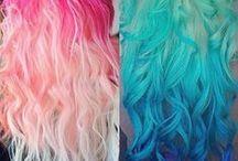 Pretty / Colorful hair
