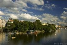 Prague Islands / Did you know that in Prague is 22 islands on the Vltava river?