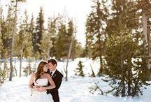 Wedding in Winter / Sposarsi in #inverno: il #matrimonio tra fiocchi di #neve e le #romantiche atmosfere natalizie #wedding #winter #christmas