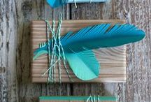Party decorations (christmas, birthday etc) / Ideas for christmas, birthdays etc