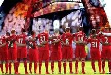 Liverpool FC / All things to do with the greatest football team in the world Liverpool FC. YNWA! / by Charlotte and Ian