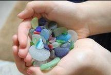 sea glass / sea shells