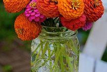 Bouquets de fleurs / Ideas de ramos e inventos con flores.