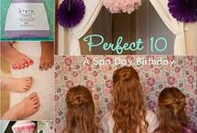 tilahs party / girly sleepover ideas