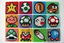 Nintendo og computer spil (Perlemønster)