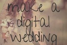Social Wedding / How to do a #social and #digital #wedding