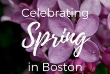 Boston Spring / Spring in Boston is a beautiful time. Check out the spring events in Boston.