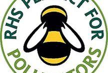 """RHS Perfect for Pollinators - Gut für Biene, Hummel und Co. / Die britische Royal Horticultural Society (kurz: RHS) kennzeichnet mit dem Perfect for Pollinators (""""Perfekt für Bestäuber"""") Logo all die Pflanzen, die bestäubenden Insekten Pollen und Nektar bieten."""