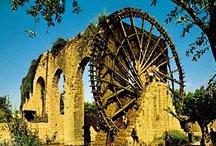 Water Wheels & Grist Mills