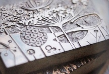Linocut/Hand Carved Stamps/Printing