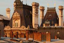 Chimney Pots & Rooftops